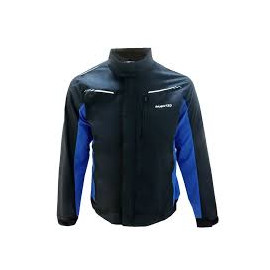JACKET ARTURO ALPHA BLACK/BLUE XXL
