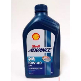 SHELL ENGINE OIL MA AX7 10W-40 1L