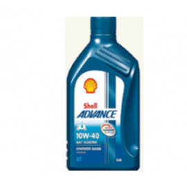 SHELL ENGINE OIL MA AX7 10W-40 0.8L