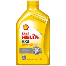 SHELL ENGINE OIL MA HX5 15W-50 1L